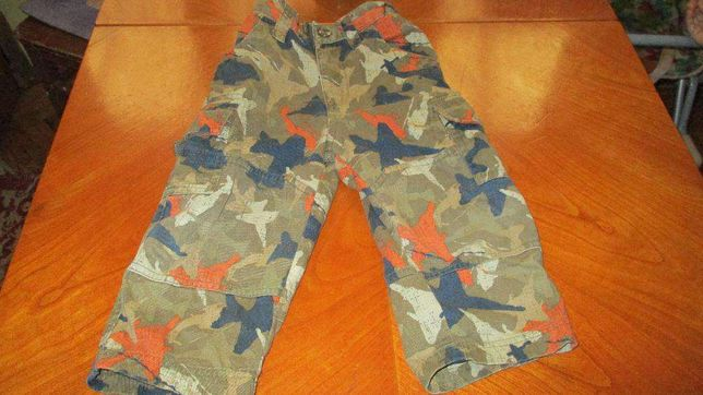 pantaloni copii, army, camuflaj, 2 ani HealthTex