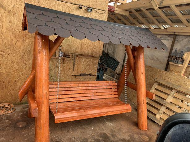 Legan rustic , lemn masiv / balansor