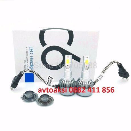 LED Диодни Крушки H1, H7 -72W цена за комплект 2бр