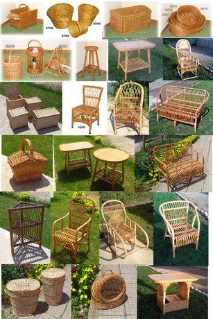 Производител на плетени мебели