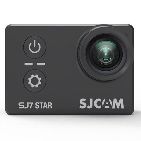Sjcam sj7 star 4k, черен, нова - 24м. гаранция - промо цена