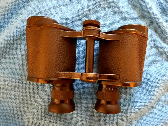 Бинокъл Carl Zeiss Jena marineglas 6x  1914г. военен WW1 Карл Цайс