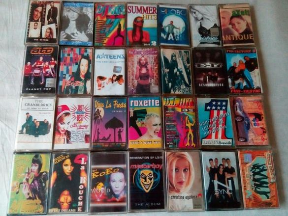 Нови снимки!!! Аудиокасети и грамофонни плочи