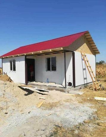 Vindem și construim căsuțe de locuit, birou magazie vestiar depozitat