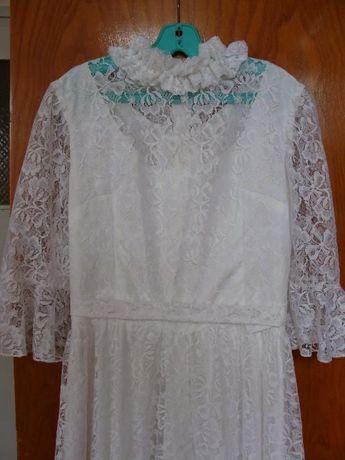 булчинска/шаферска рокля от дантела