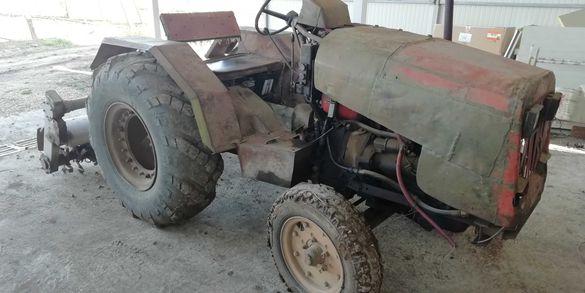 Трактор самоделка 25кс