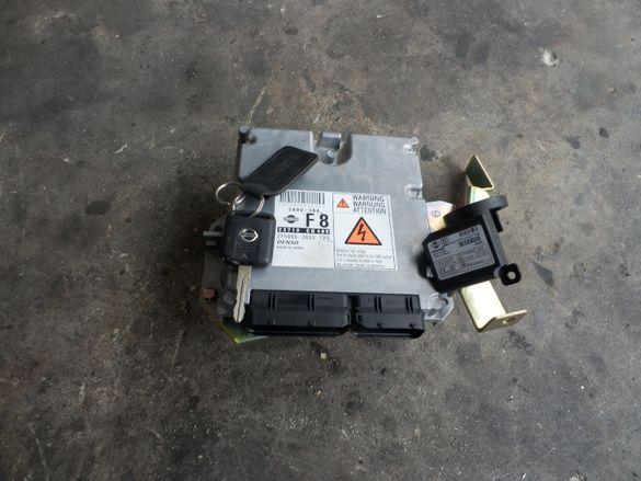 Компютър за Нисан Х трал Nisan X-trail 2,2 дизел 136 кс.2006г.с Клуч и