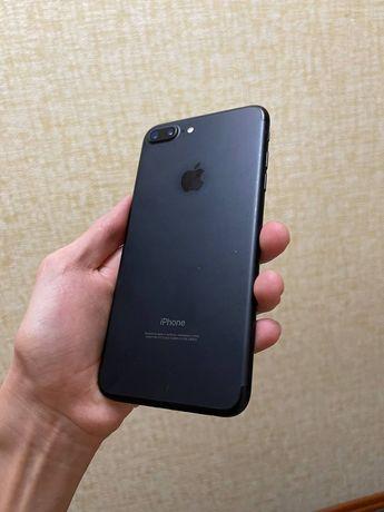 Продам iphone 7 plus 32g, чёрный матовый