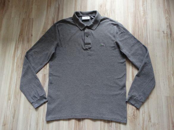 Lacoste polo t shirt мъжка блуза фланела тениска с дълъг ръкав S / 3