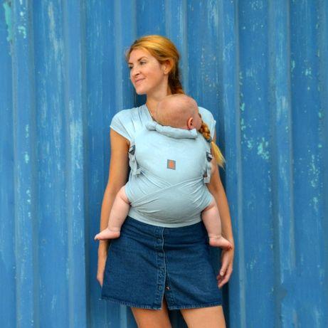 От 1+ месеца   Мей Тай слинг (май тай) 100% памук   ергономична раница