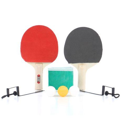 Set palete Ping-Pong cu fileu + trei mingii