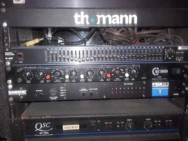 EQ Equalizer,Crosover C Audio V 203,Control Panel de vanzare vezi poze