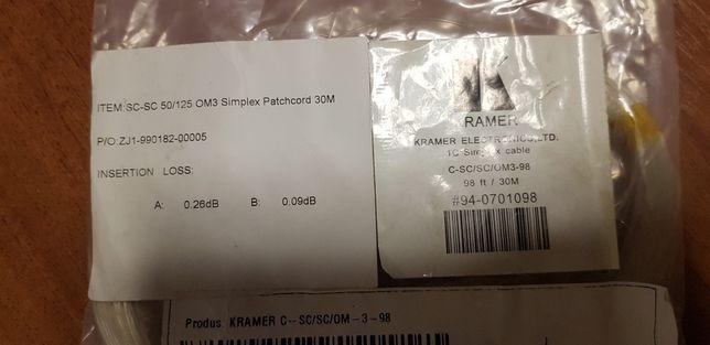Patch cord fibra optica 30m SC-SC