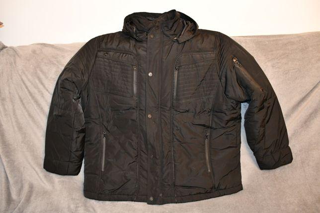 Scurta barbateasca de iarna marime 62-64 culoare neagra gluga detasabi