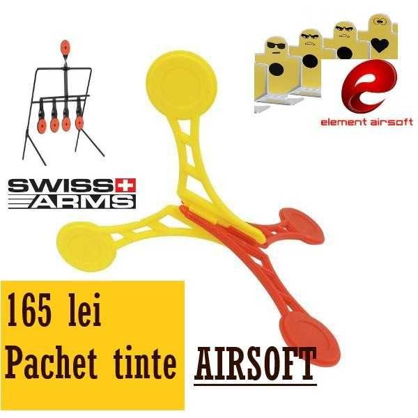 Tinte estivale airsoft - 3 tipuri tinte airsoft mobile si interactive