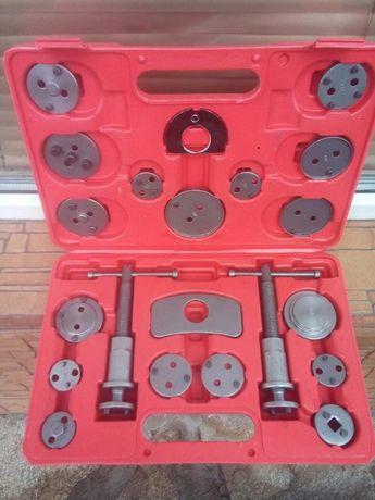 комплект за накладки,прибиране на спирачни апарати(цилиндри) 21 части