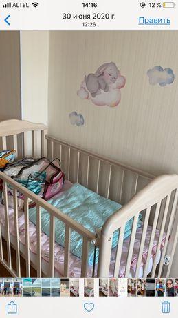 Продам детскую кровать 120*60