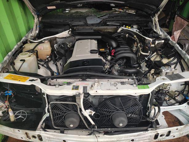 W124 m104 3.2 АКПП722.3  41тыс миль Америка контрактный двигатель мерс