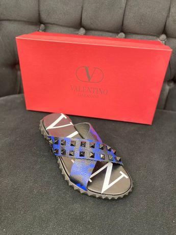 Papuci Slapi Valentino piele naturala PREMIUM