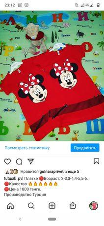 Продам новые платья производство Турция детские по цене опта