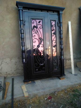 Профессиональная покраска ворот, дверей,металлических изделий