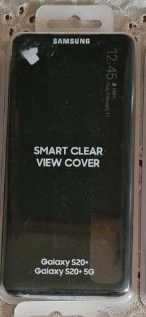 Husa Smart clear view cover Samsung Galaxy s20+ plus sigilata