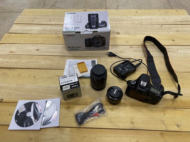 Фотоаппарат canon 60 D