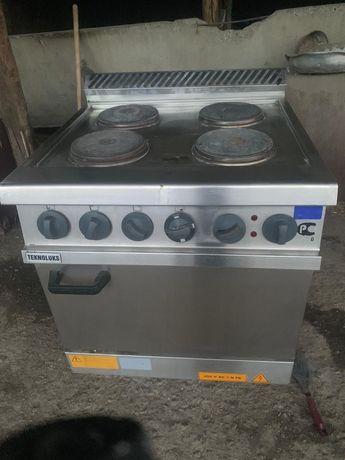 Электрическая профессиональная плита мощная 380