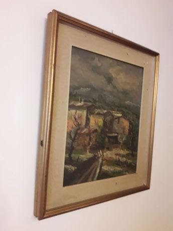 Tablou pictura pe panza semnat Bab Baguia