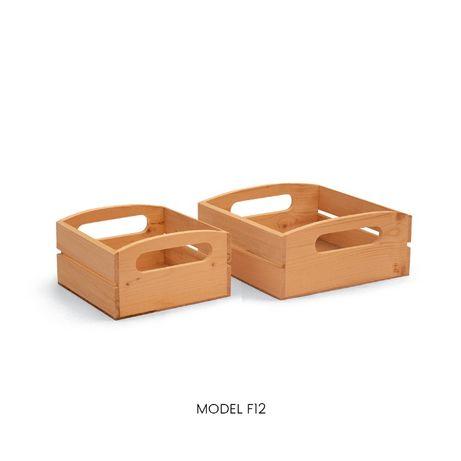 Cutii si ladite din lemn decorative, organizatoare