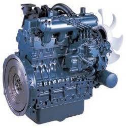 Motor complet Kubota V 2403 V 2403 T