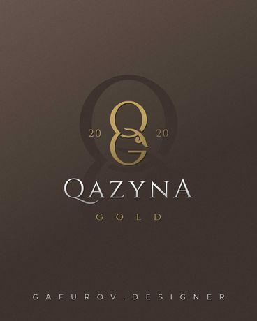 Разработка логотипа в Актау. Графический дизайн Инст: gafurov.designer