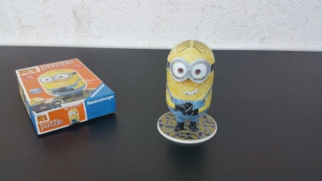 Puzzle - 3d - minion - minions
