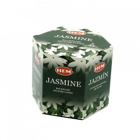 Conuri parfumate HEM Jasmine, backflow , fum greu