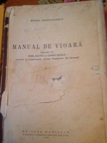 Manual metoda de vioara Geanta-Manoliu incepatori clasa 1 -a