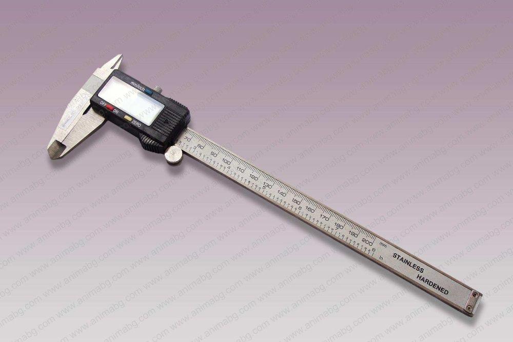 ANIMABG Цифров шублер 200 mm
