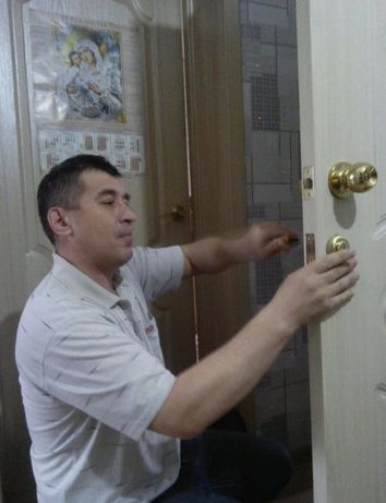 Установка дверей. Сергей