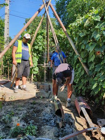 Executăm puțuri apă piloni si denisipari