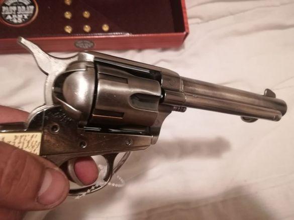 Револвер-пистолет Колт 45 от 1873 г. Колекционерска висококачествена р