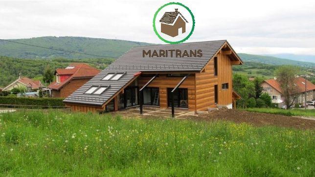 Case din lemn (case,cabane,garaje,foisoare,mansarde,terase)
