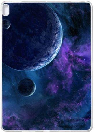 Husa Tableta Lenovo Tab E10 TB-X104 10.1 inch, TPU, galaxie