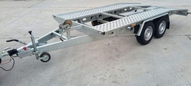 Inchiriez trailer platforma 80 ron