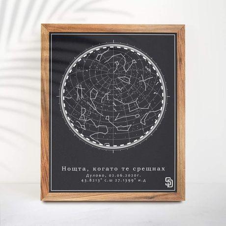 Звездна карта за даден повод