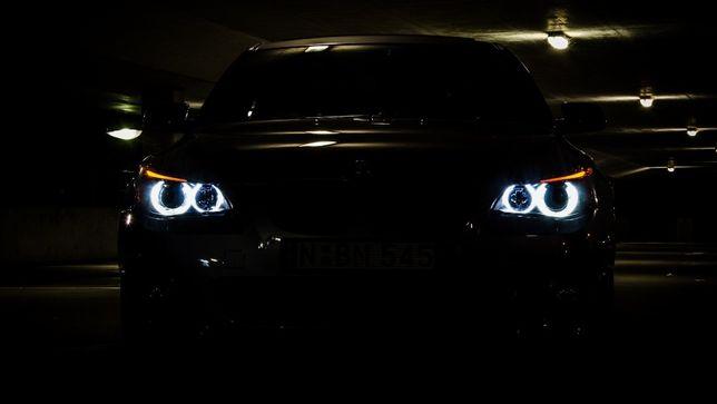 90W Set 2 LED Marker Angel Eyes BMW alb 6000k E39 E60 X3 X5