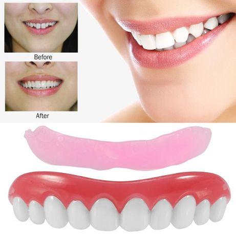 Fațete dentare universale - Material siliconic