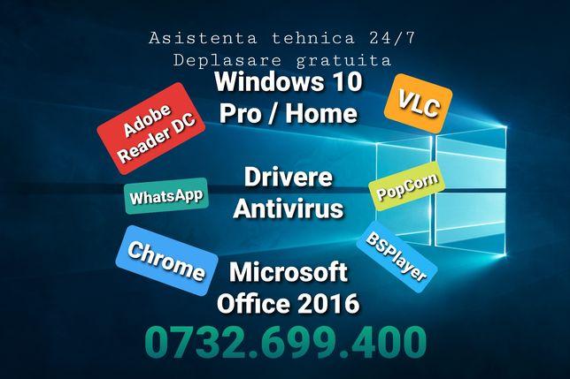 Instalare Windows La Domiciliu Bucuresti Ilfov Promotie !