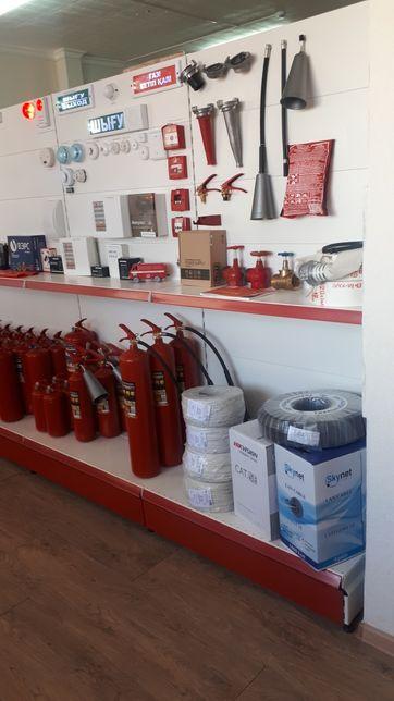 Видеонаблюдение, охранно-пожарная сигнализация, огнетушители в Тайынше