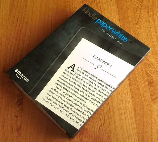 НОВ Kindle Paperwhite 3, 300ppi - Бял/Черен + Аксесоари - Гаранция 12м