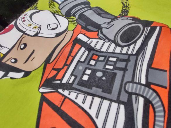 Детска тениска Lego Star Wars 128р отлична