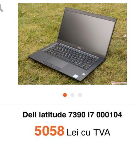 Leptop dell latitudine 7390 procesor i7